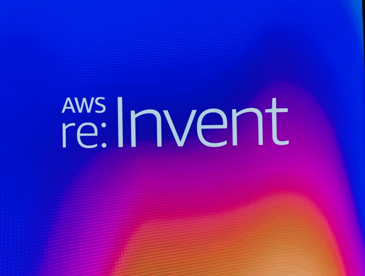 AWS re:Invent sign