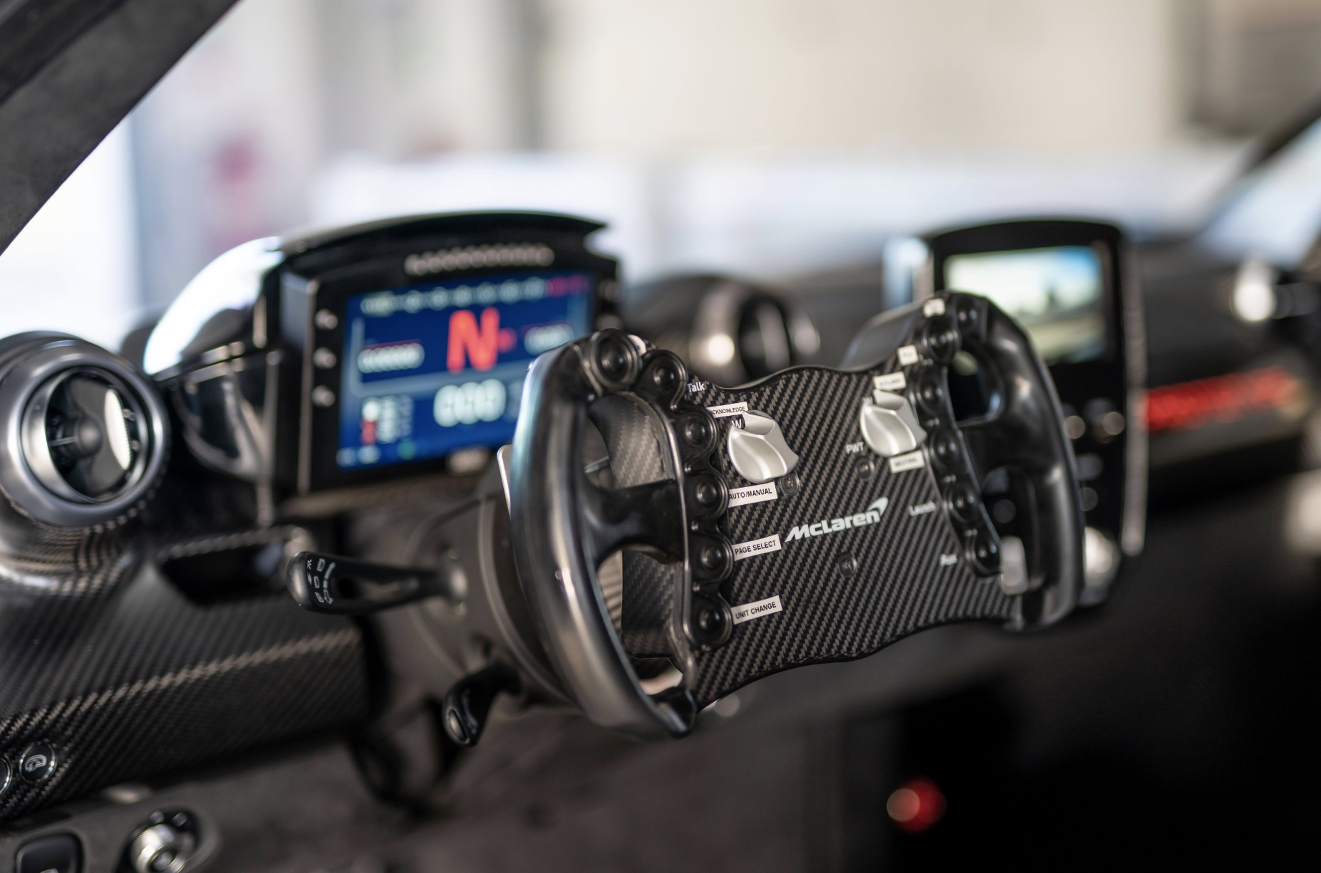 Cockpit McLaren Senna GTR