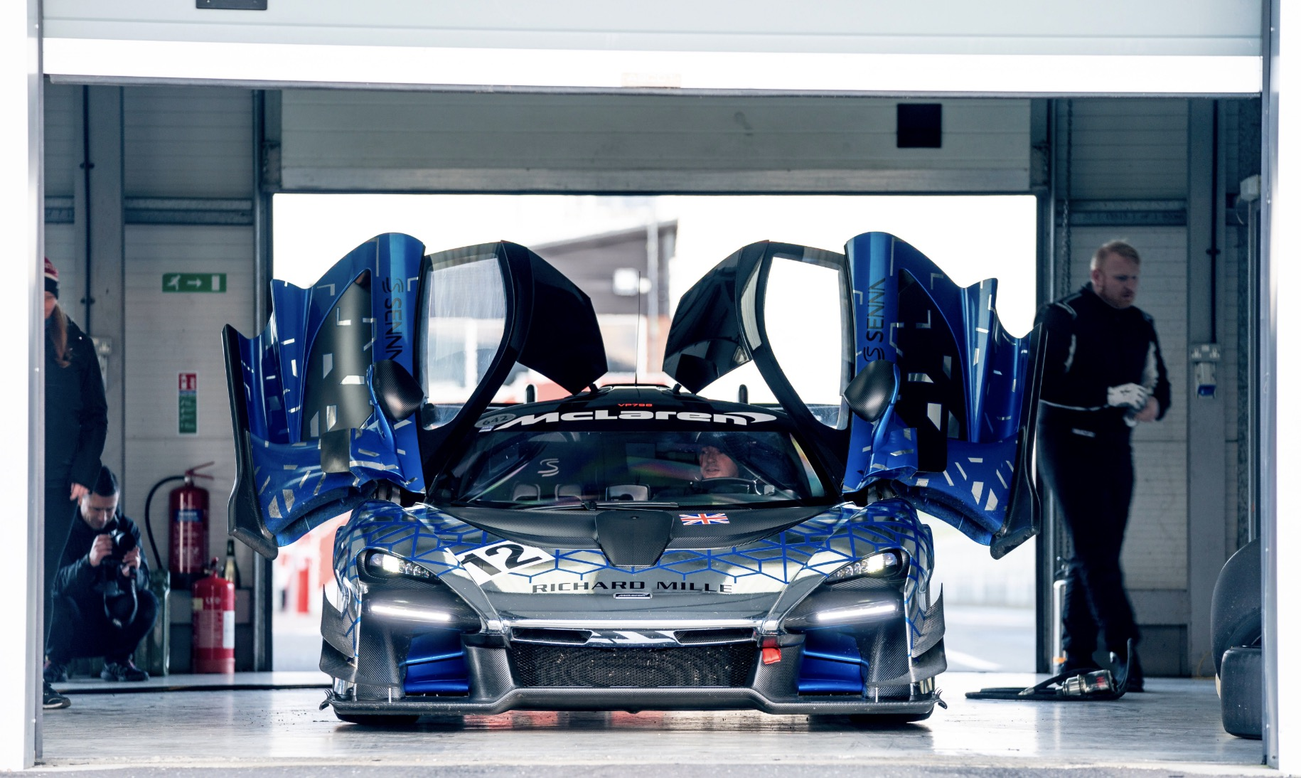 Portes McLaren Senna GTR