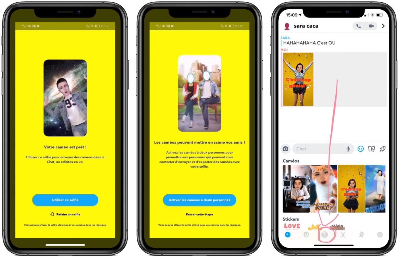 Snapchat Cameos Edit Your Face Into Videos Techcrunch