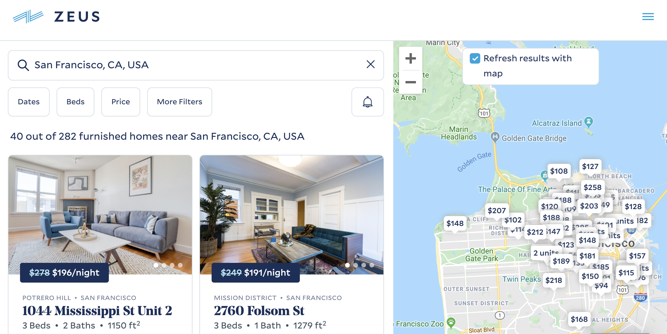 Airbnb invests as Zeus corporate housing raises $55M at $205M