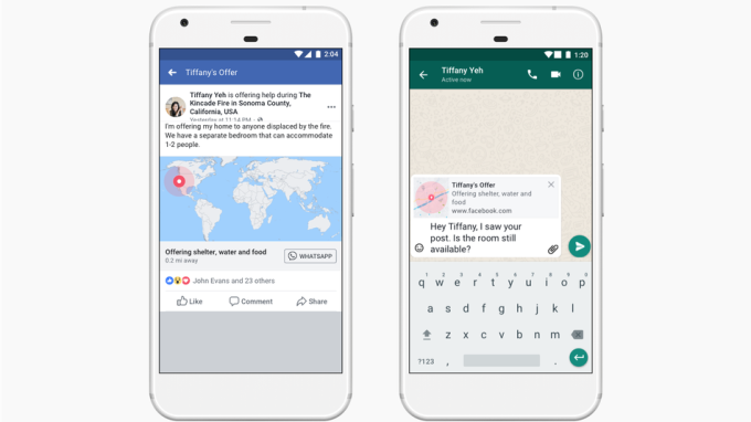 Facebook updates crisis response tools, adds WhatsApp integration