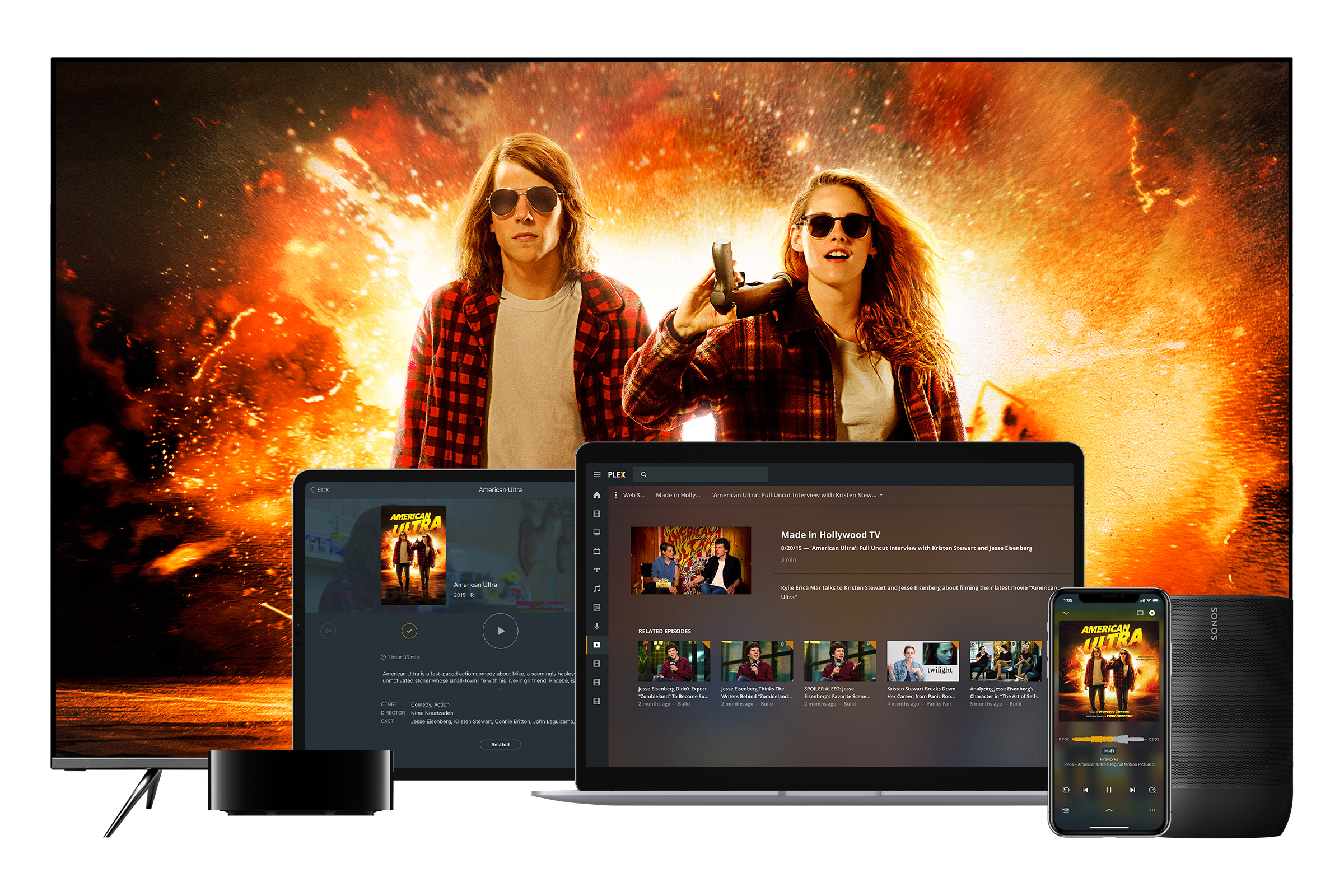 Plex launches free, ad-supported movie and TV show streaming