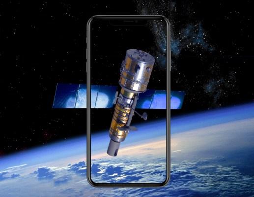 Iphone satellite