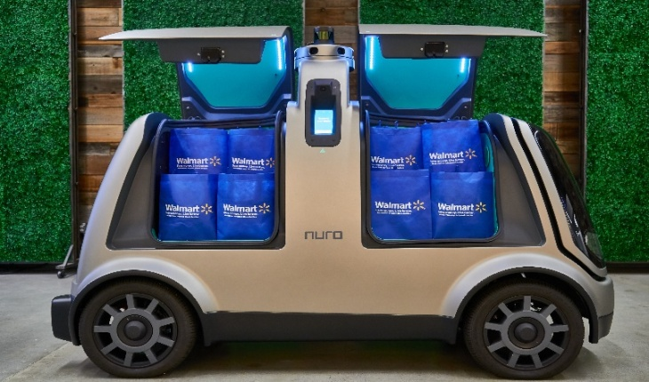Walmart partners with self-driving startup Nuro to test