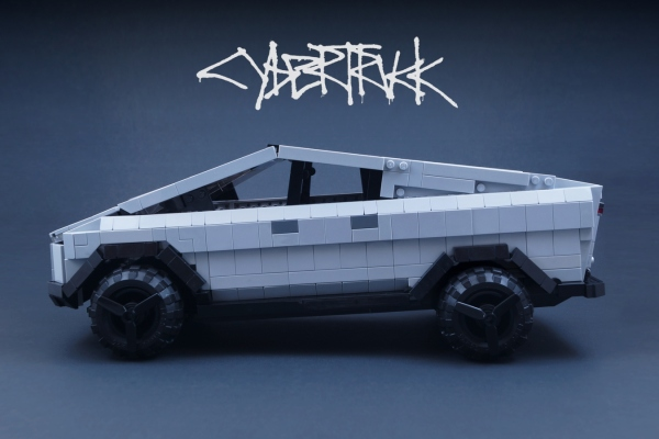This Lego Cybertruck is one even Elon can love