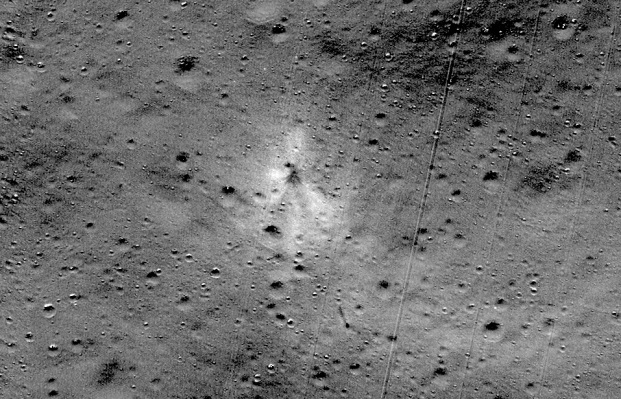 The remains of India's first lunar lander have been found on the Moon - TechCrunch thumbnail