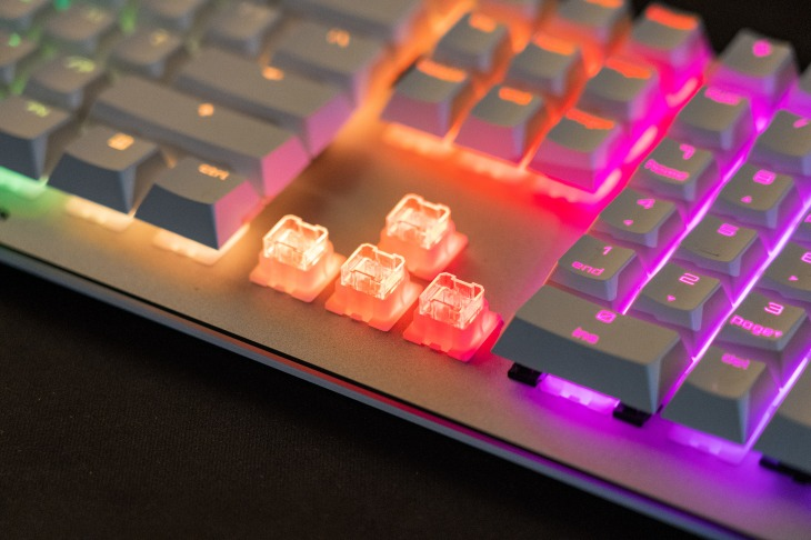 Cherry goes downmarket with its new Viola mechanical keyboard switches |  TechCrunch