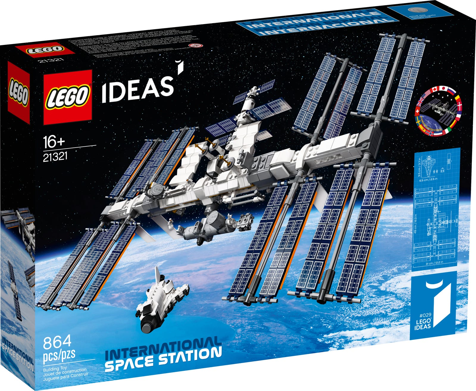 LEGO Unveils International Space Station Replica Set