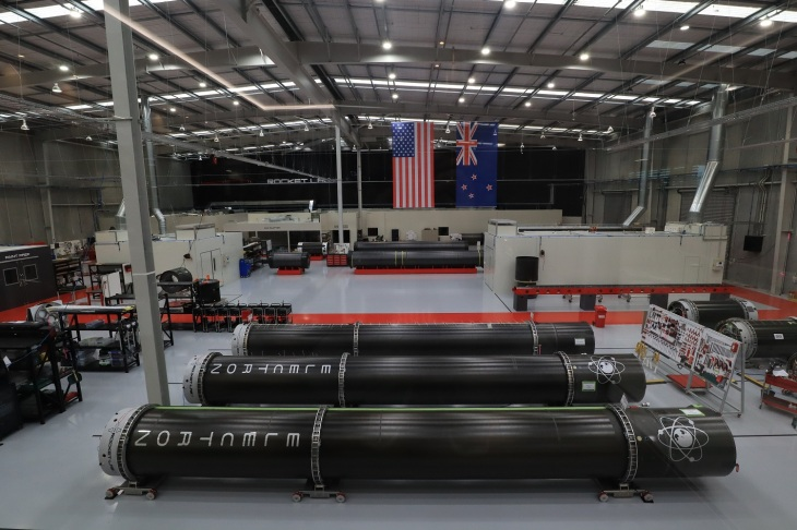 Rocket Lab production facilty