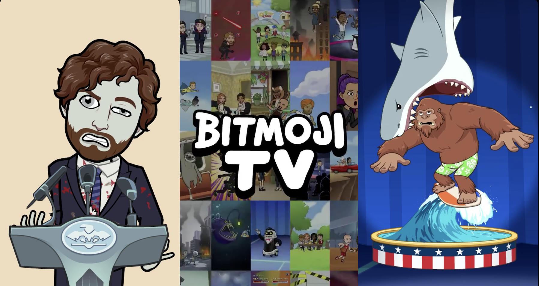 Snapchat Launches Bitmoji Tv Zany 4 Min Cartoons Of Your Avatar