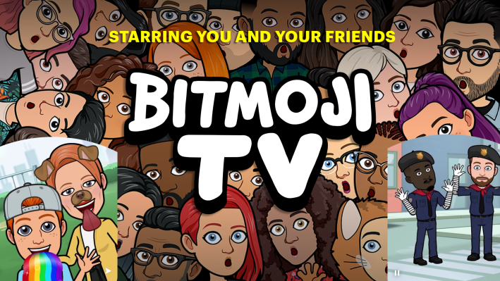 Technology Snapchat launches Bitmoji TV: zany 4-min cartoons of your avatar thumbnail