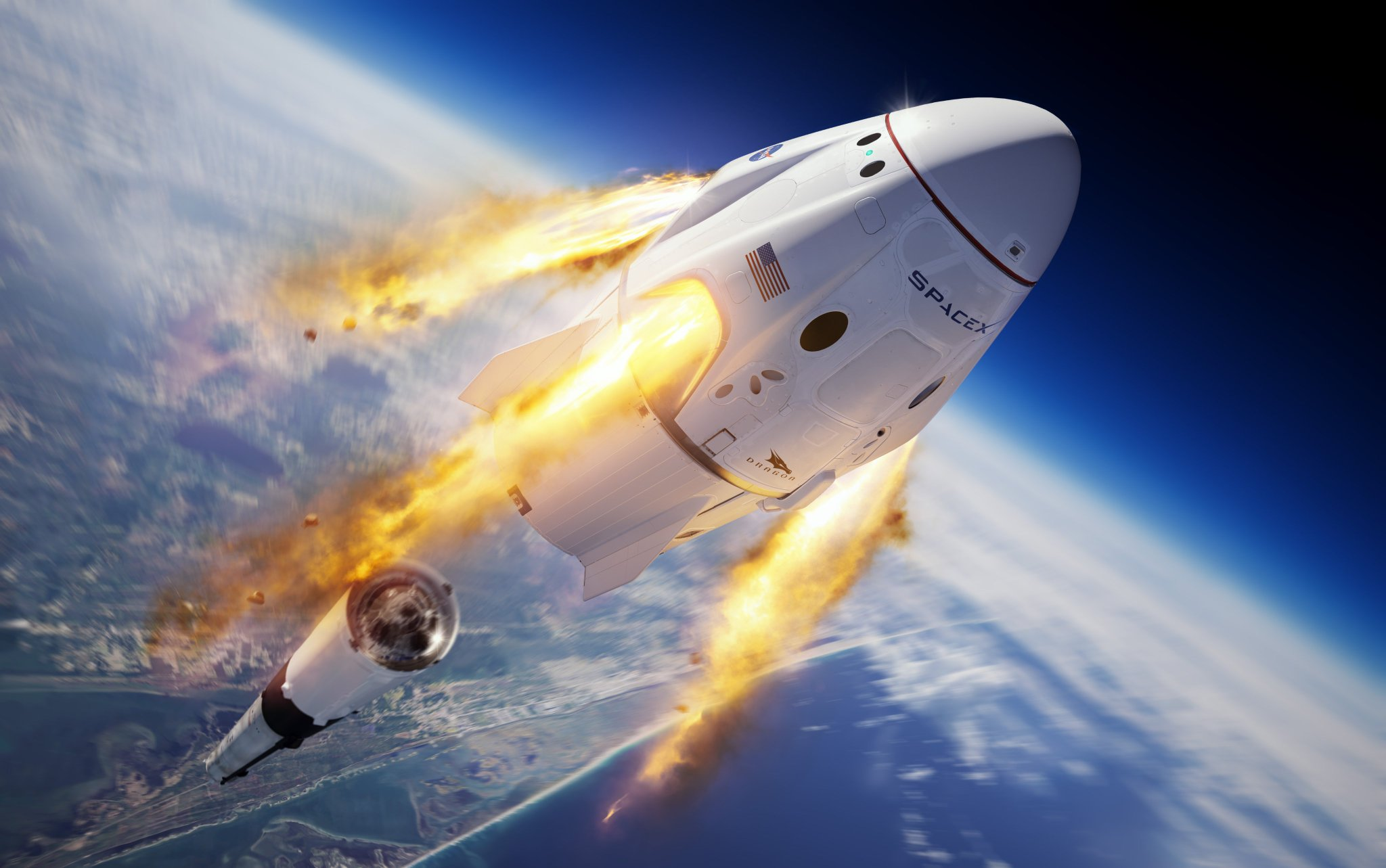 No in-flight abort for SpaceX's Crew Dragon spacecraft today