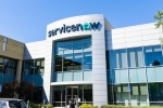 September 6, 2019 Santa Clara / CA / USA - ServiceNow office building in Silicon Valley; ServiceNow, Inc. is an American cloud computing company