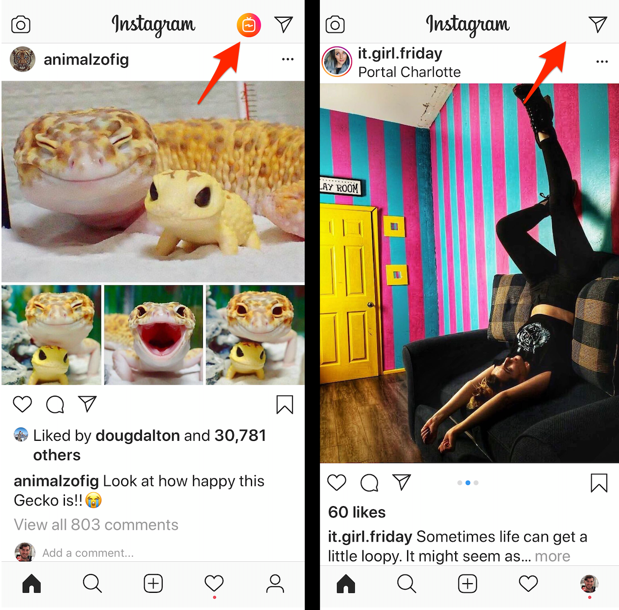 Instagram Removes IGTV Button From Home Screen