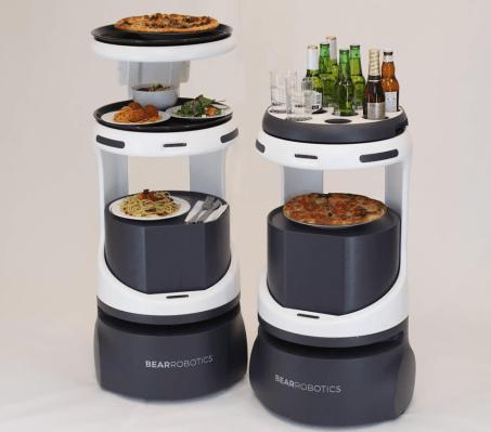 Bear Robotics, a company making robot waiters, just raised a $32 million round led by SoftBank
