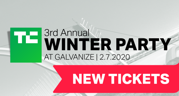 Hot off the press: New tickets to the 3rd Annual Winter Party at Galvanize
