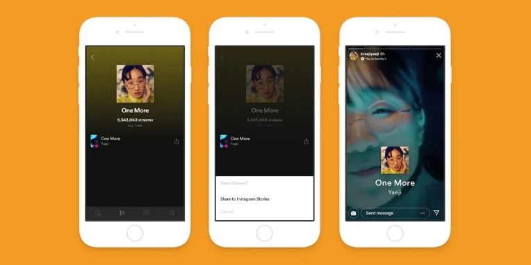 Get ready to see Spotify's looping videos on Instagram thumbnail