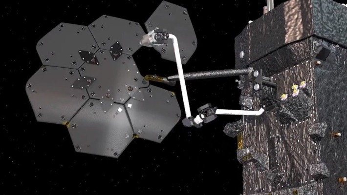 Maxar and NASA will demonstrate orbital spacecraft assembly with a new robotic arm thumbnail