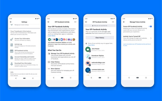ofa embedded en us - All users can now access Facebook's tool for controlling which apps and sites can share data for ad-targeting