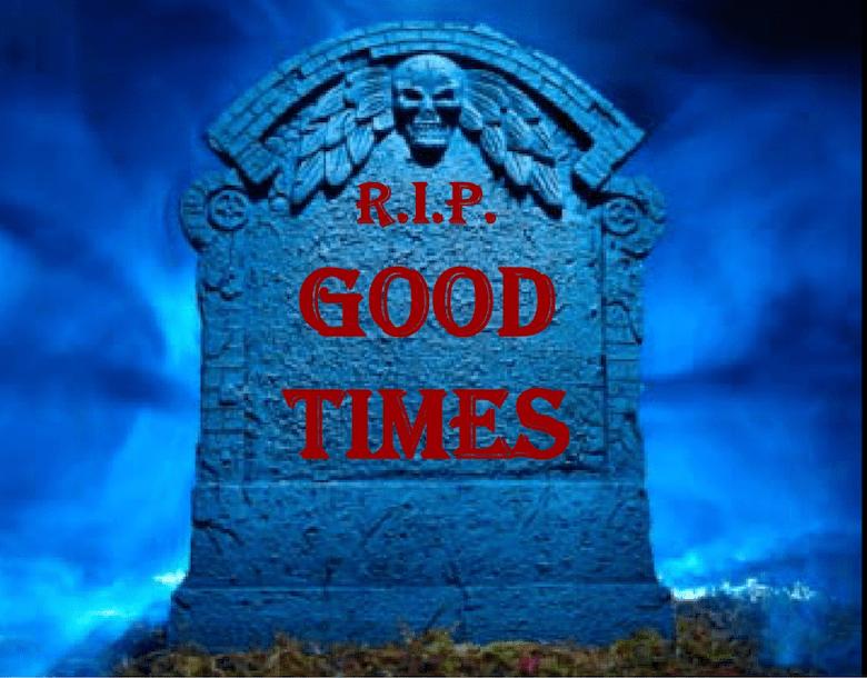 R.I.P. Goofy Times   TechCrunch