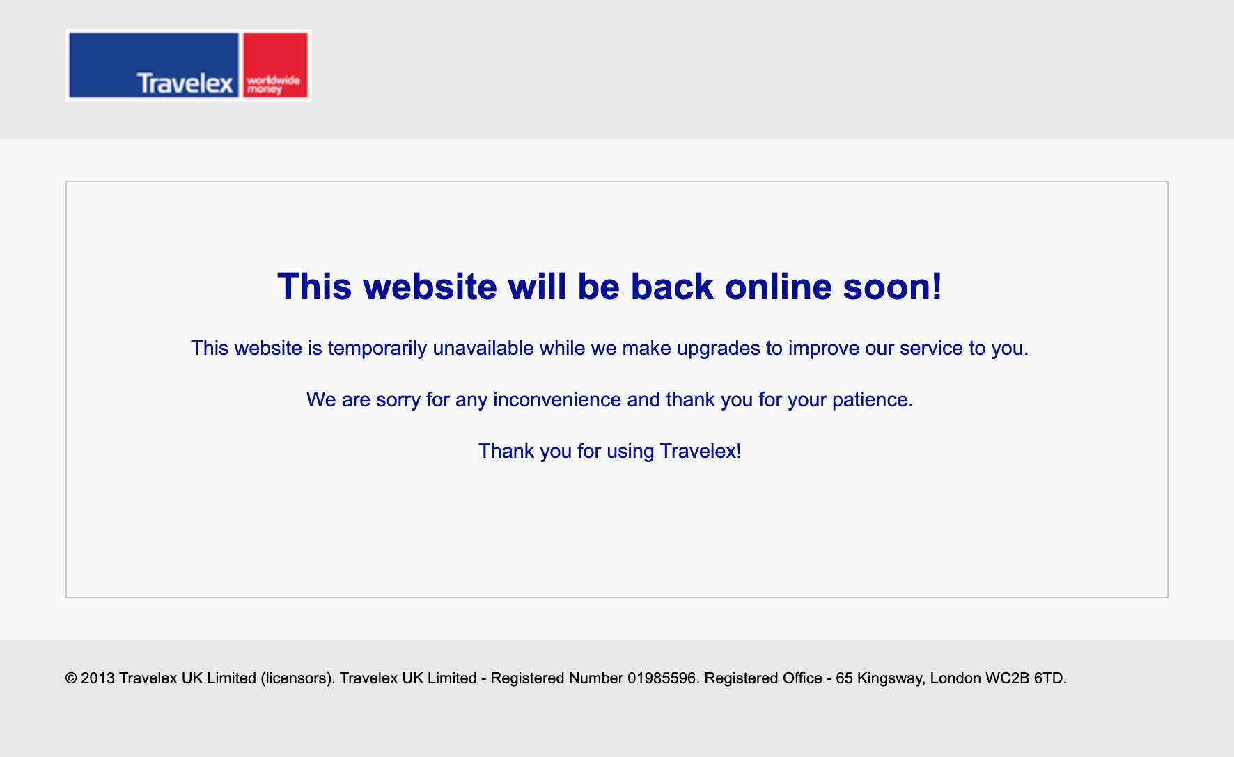Travelex takes website offline after software attack