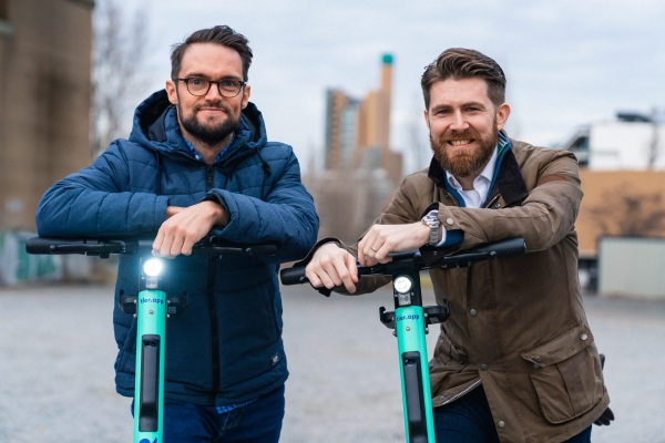 Tier Mobility, the European e-scooter rentals startup, adds new COO and CCO to executive team thumbnail