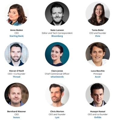 Meet the first wave of speakers & enter your startup for The Europas Awards, 25 June