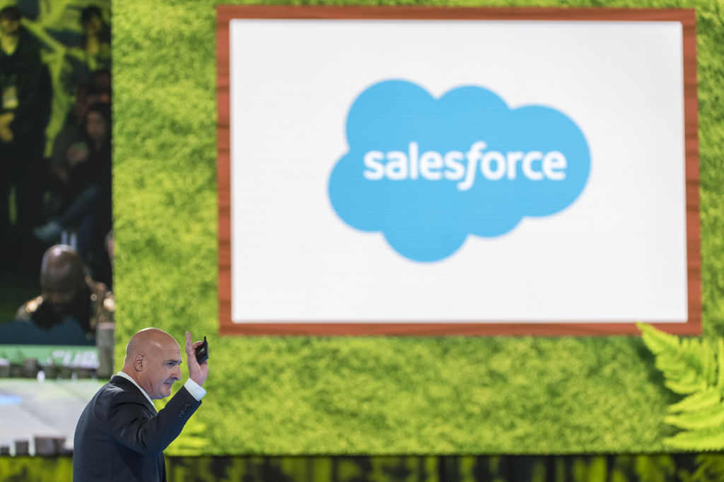 Salesforce co-CEO steps down as Marc Benioff takes sole charge