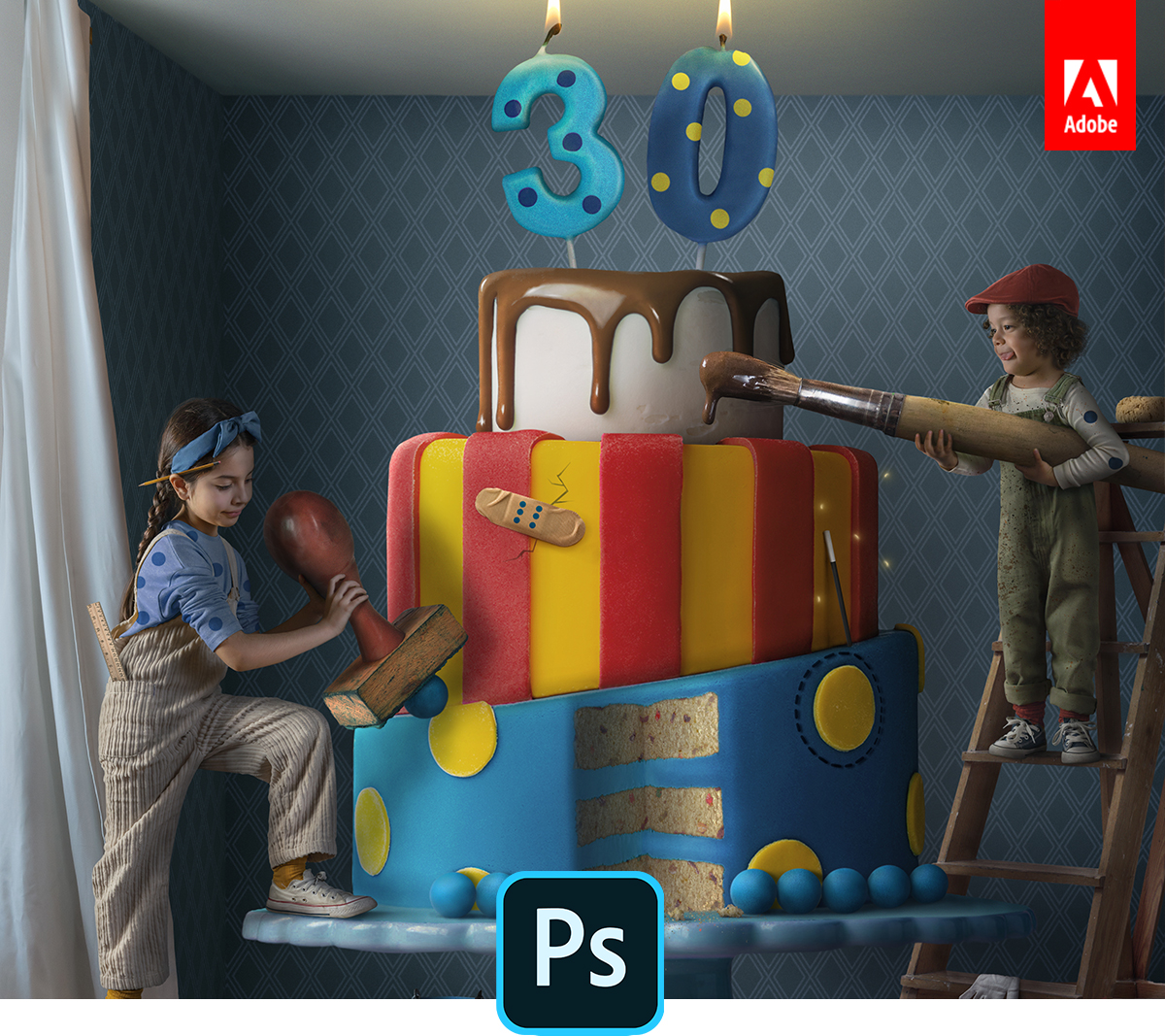 Photoshop turns 30; Adobe adds new features to celebrate