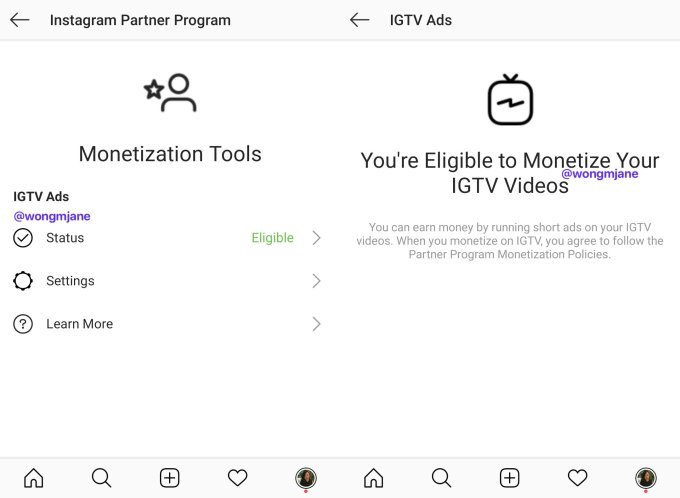 Instagram prototypes letting IGTV creators monetize with ads 2