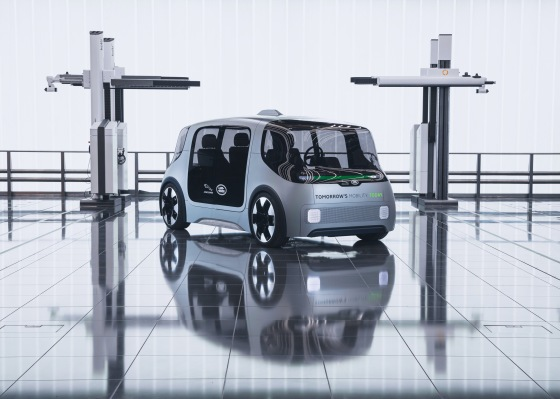 Jaguar Land Rover debuts electric urban mobility concept vehicle with plans for 2021 pilot - techcrunch
