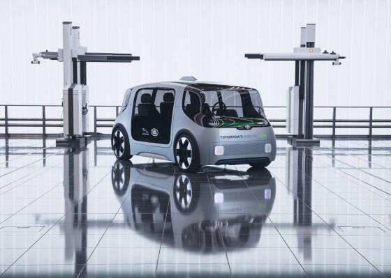 Jaguar Land Rover debuts electric urban mobility concept vehicle with plans for 2021 pilot - techcrunch