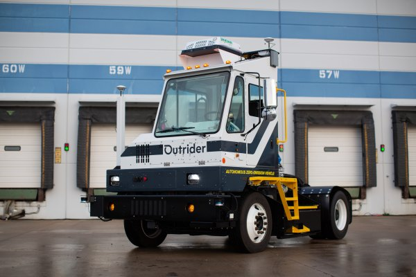 Autonomous yard trucking startup Outrider comes out of stealth with $53 million in funding