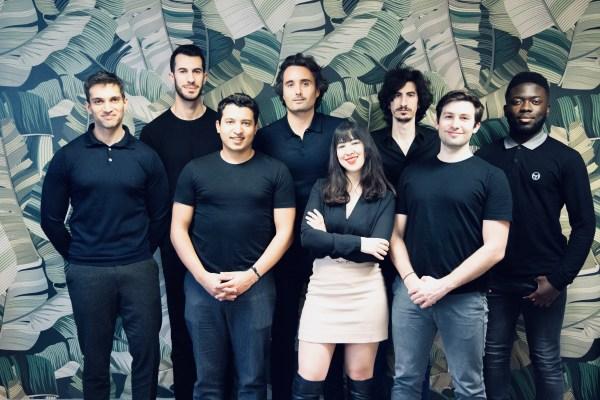 Partial team picture