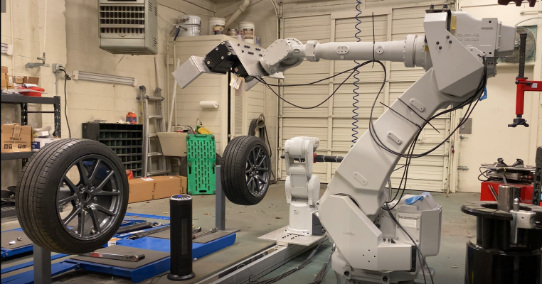 Your next tire change could be performed by a robot - TechCrunch