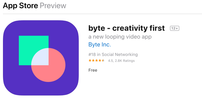 Byte tops a million downloads amid spam issues and content concerns 3