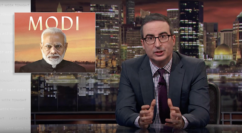 Disney blocks John Oliver's new episode critical of India's PM Modi