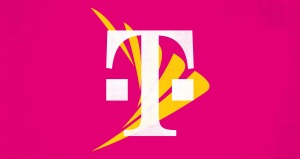 t-mobile logo overlaid on sprint logo
