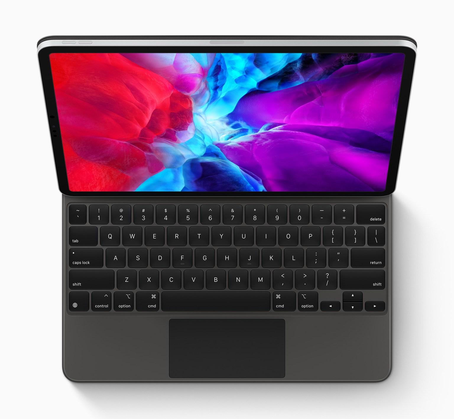 Apple new ipad pro keyboard 03182020