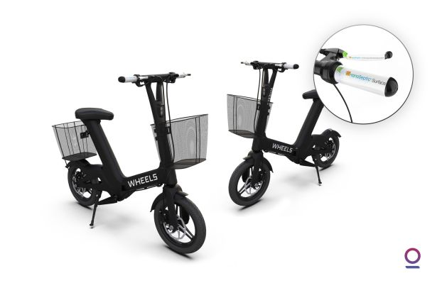 Wheels is deploying e-bikes with self-cleaning handlebars and brake levers