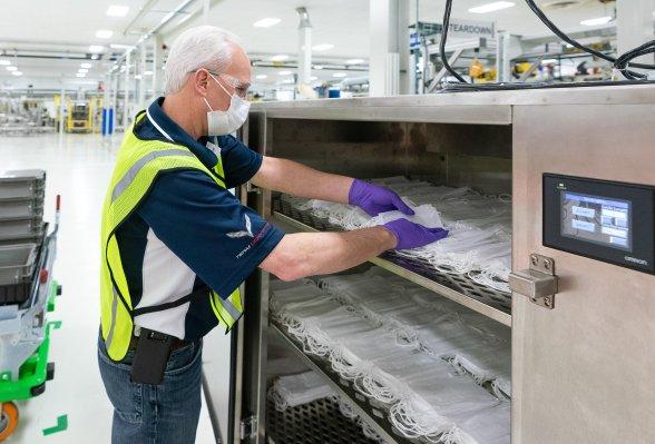 General Motors hace girar la cadena de suministro global para fabricar 50,000 máscaras faciales por día - TechCrunch 7