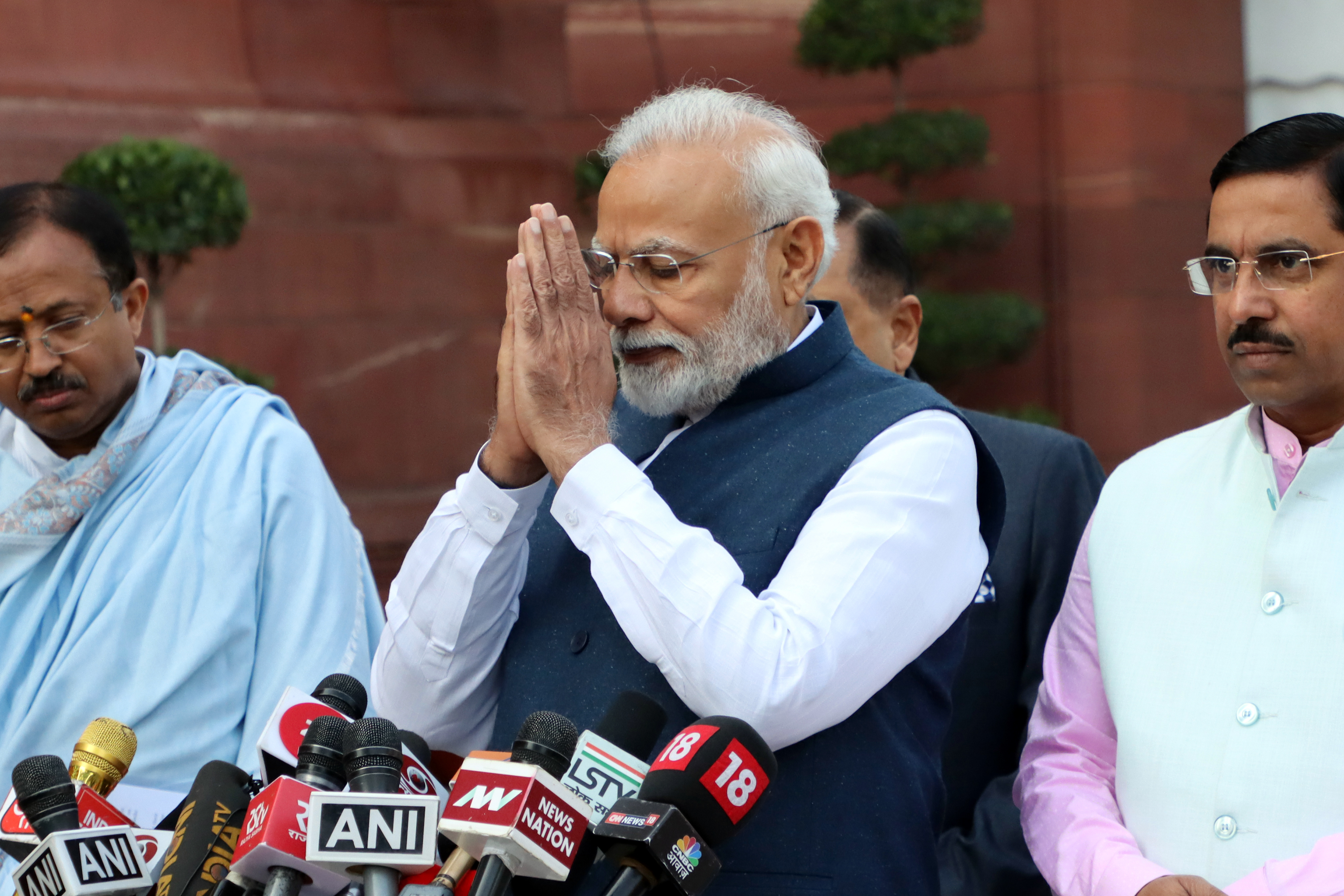 Indian Prime Minister Narendra Modi says he is thinking about ...