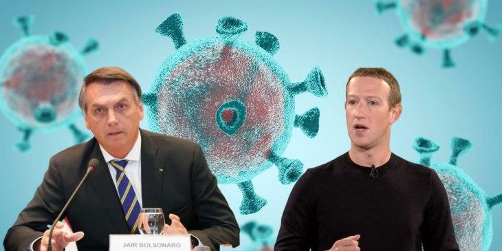 GettyImages 1208505324 1 - Facebook deletes Brazil President's coronavirus misinfo post