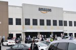 Amazon workers at Amazon's Staten Island warehouse strike