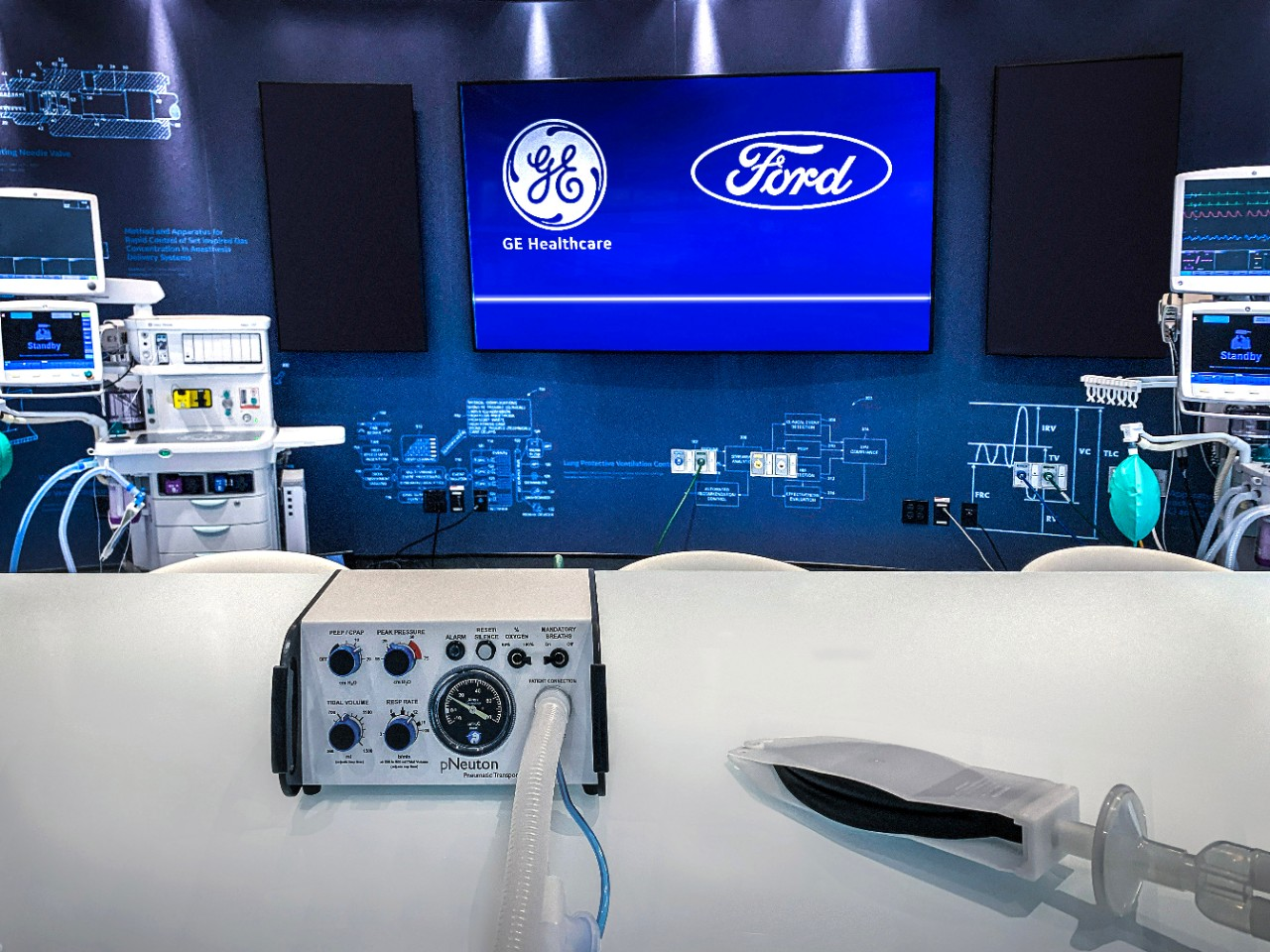 Coronavirus pandemic | Ford, GE to produce 50,000 ventilators in 100 days