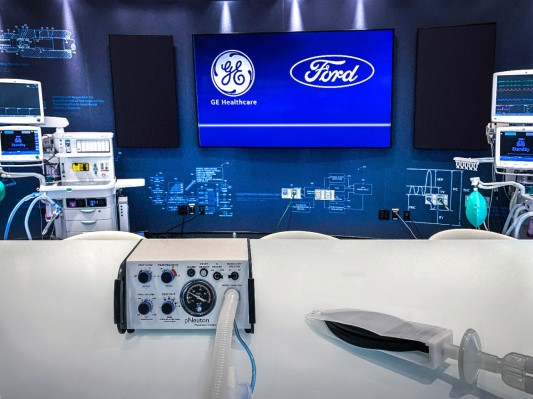 Ford, GE Healthcare to produce 50,000 ventilators by July using this tiny company's design thumbnail