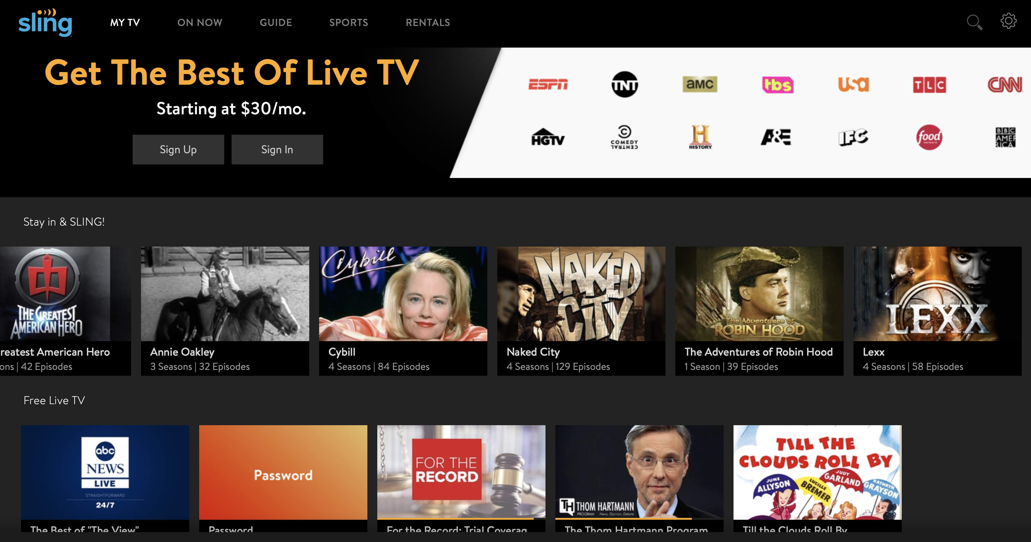 Sling TV is Offering Free Live Movies and TV During Coronavirus Outbreak