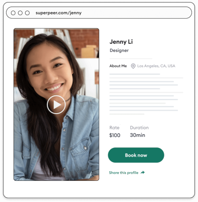 Superpeer raises $2M to help influencers and experts make money with one-on-one video calls