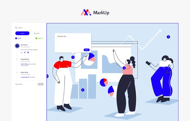 Ceros launches MarkUp, a design collaboration tool for live websites - TechCrunch